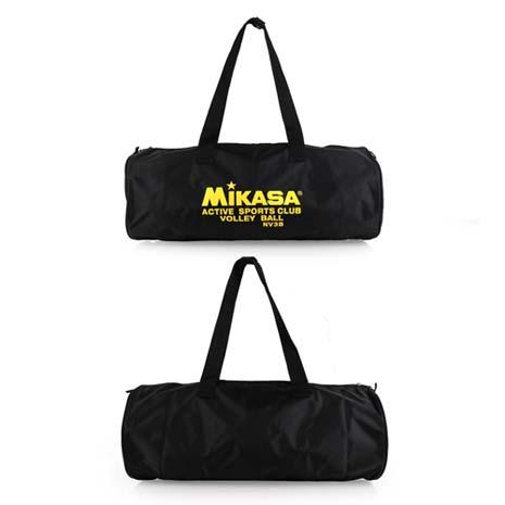 【MIKASA】排球袋 -3顆裝 手拿袋 手提袋 收納袋 黑黃