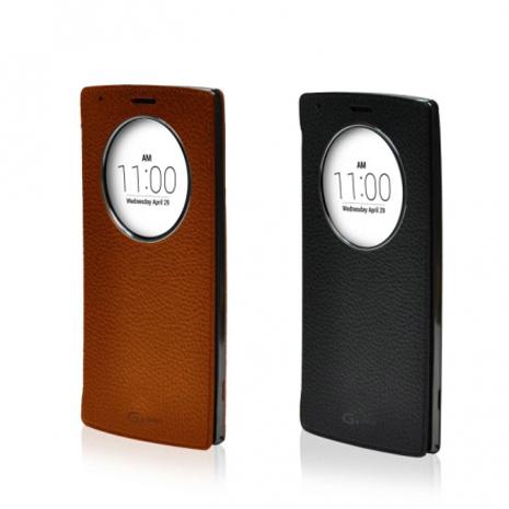 LG G4 Stylus 原廠視窗感應皮套