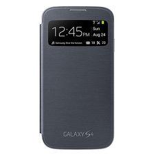 SAMSUNG Galaxy S4 視窗感應皮套~黑色^( 盒裝^)