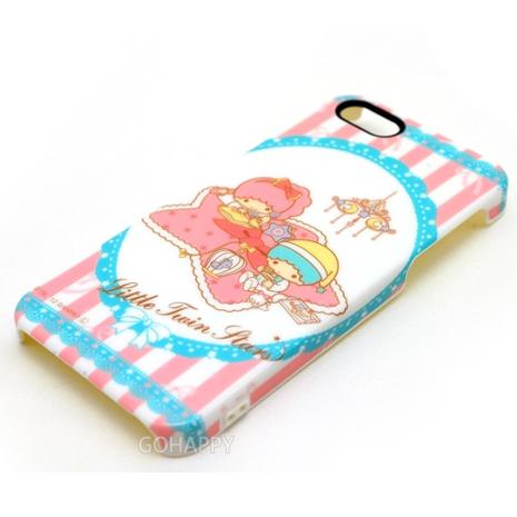 日本GD iPhone5/5S SE晚安KIKI LALA背蓋-二入組