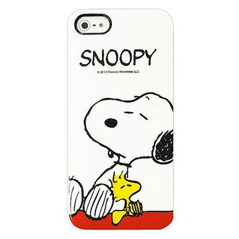 日本GD iPhone5/5S SE SNOOPY 保護套-悠閒時光