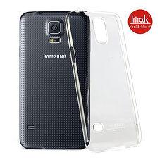 iMAK 羽翼水晶殼保護背蓋~Samsung S5 ~iCushion~耳機捲線器 手機小
