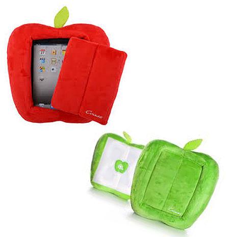 Ccase for iPad 2/3/4 / Tablet 平板電腦專用 蘋果造型 閱讀抱枕/保護套 +【Gourmandise】Hello Kitty造型款立體聲耳機-粉嫩甜心