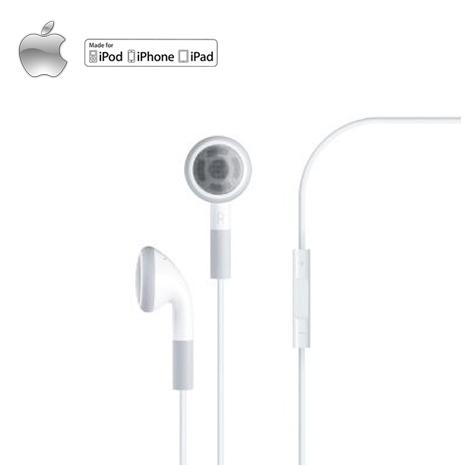 【Apple】蘋果原廠耳機含線控麥克風 (MB770FE/A)