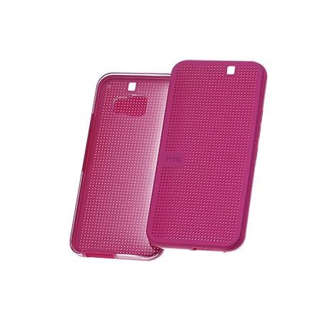 【裸裝】【HTC原廠】 HTC One M9/M9s 第二代炫彩顯示保護套 - 粉