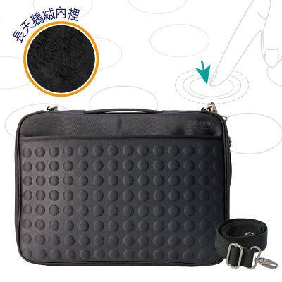 "Starking【OUI""為""精品】OBIEN 超防震天梭電腦包(黑色)原價1900特惠上架1480元"