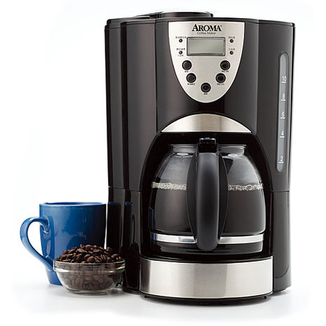 【威寶家電】AROMA 自動磨豆美式咖啡機 (ACM-900GB)