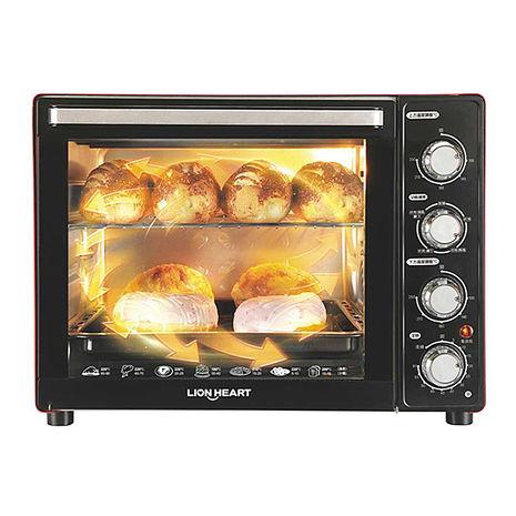 獅子心35L3D旋轉烤籠電烤箱(LOT-350C)