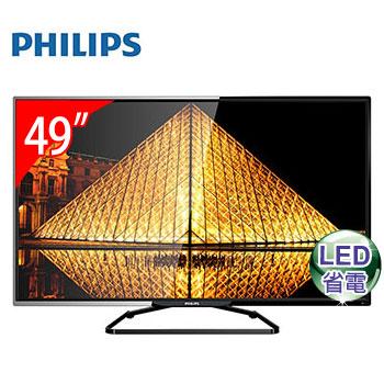 PHILIPS 49型液晶顯示器+視訊盒(49PFH5200)