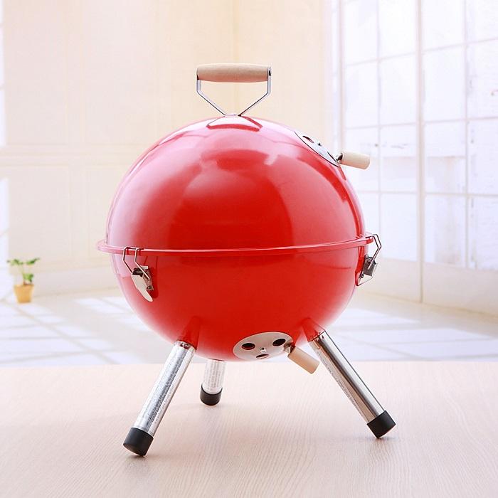 經典美式戶外不銹鋼 烤肉爐 紅色 黃色 綠色 藍色