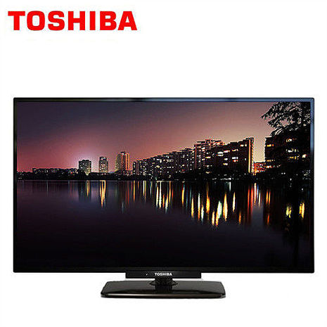 【TOSHIBA東芝】24吋液晶顯示器+視訊盒(24P2650VS) 再送原廠耳塞式耳機一副