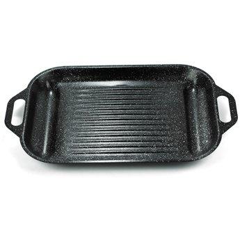 《御膳坊》碳鋼不沾燒烤盤(大理石漆)