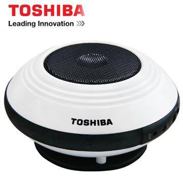 TOSHIBA 攜帶型單聲道無線藍牙喇叭 TY-SP1TW(W)