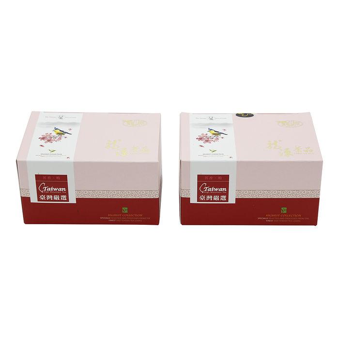 【鑫龍源】台灣黃山雀阿里山金萱茶2盒組(150g/盒) - 共300g