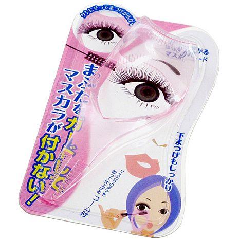 日式三合一防暈染睫毛刷睫毛梳睫毛卡超值2入(KQ-1029)
