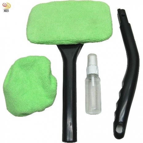 月陽超細纖維可加長車內玻璃清潔刷再送布頭及噴霧瓶(387999)
