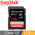 SanDisk Extreme Pro SD 128G 記憶卡 95Mb/s