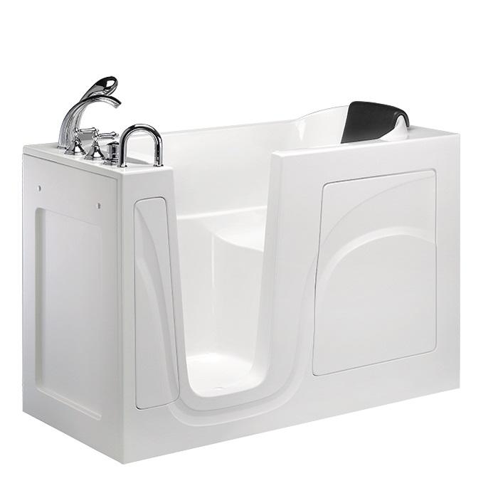 【海夫健康生活館】內開式 開門式浴缸 026-A (長129.5 * 寬65.5 * 高102 cm)