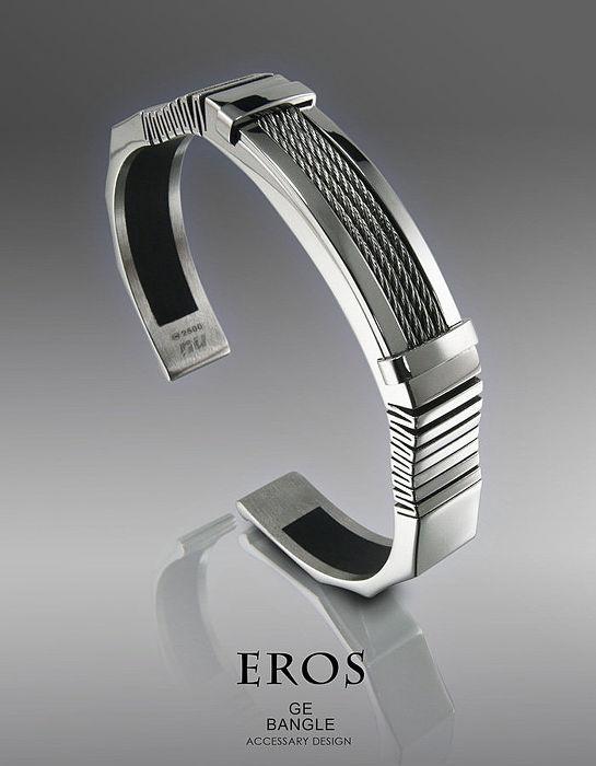 【恩悠數位】NU 鈦鍺能量精品 Eros 鈦鍺能量男款手環
