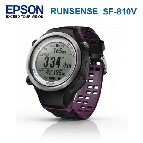 EPSON Runsense SF-810V 專業鐵人智慧運動智慧手錶-好禮2重贈 絨布套及隨機精美小禮