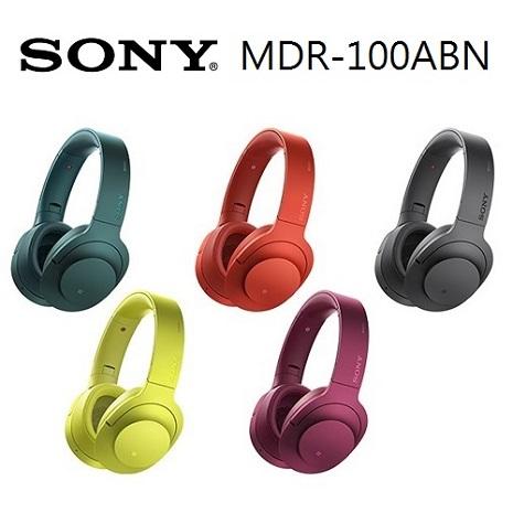 SONY MDR-100ABN h.ear on 無線降噪耳機(公司貨)