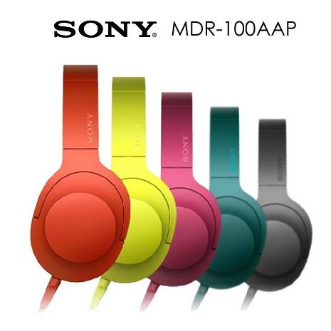 SONY MDR-100AAP 立體聲耳罩式耳機(公司貨)