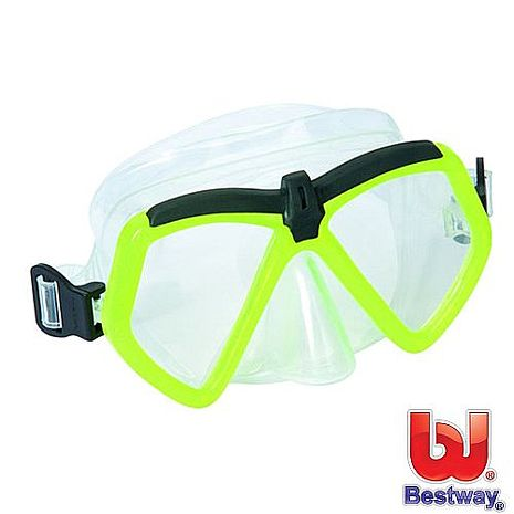 【BESTWAY】繽紛潛水鏡 (綠色)