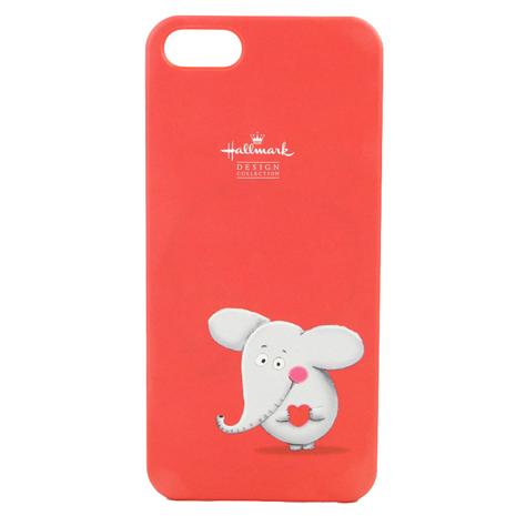 美國品牌【Hallmark】iPhone5/5S 彩繪手機保護殼-甜心小象(WSH107)