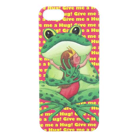 【AGEX】幾米擁抱系列彩繪iPhone5/5S手機保護殼 - 擁抱青蛙(HUG008)
