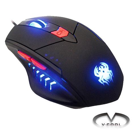 【V-COOL】SHADOW超雷射光學電競滑鼠G623