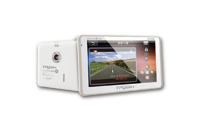 Trywin DTN-3DX捌 3DX8 行車紀錄器+衛星導航+測速 18合1行車整合