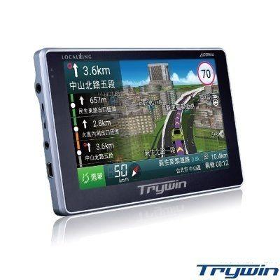Trywin DTN-X688 5吋即時路況導航機 (導航王 四核CPU 內建8G)