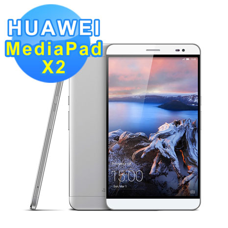 HUAWEI Mediapad X2 7吋 雙4G雙卡旗艦級手機(贈鋼化保護貼+原廠皮套(任選)+觸控筆)