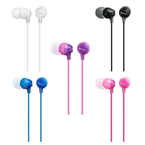 SONY MDR-EX15AP 原廠時尚色彩立體聲耳塞式耳機 (盒裝)