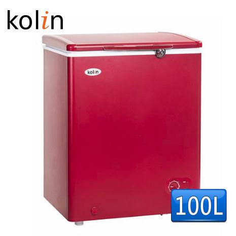 《KOLIN歌林》100L臥式冷凍冰櫃KR-EL110F01-R(含拆箱定位)