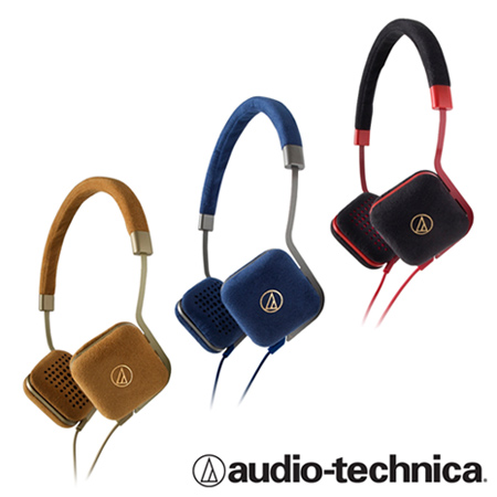 鐵三角ATH-UN1 超級麂皮獨特時尚風格頭戴式耳機