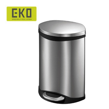EKO海貝靜音垃圾桶-6L (四色可選)