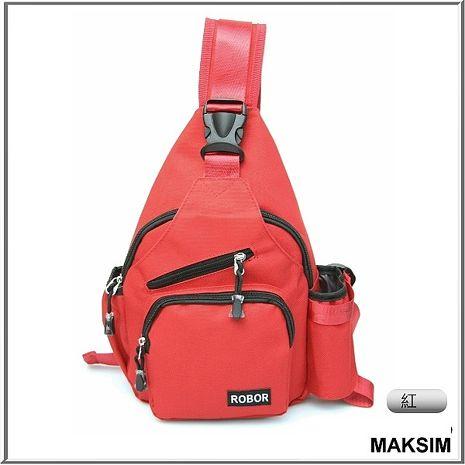 MAKSIM韓版潮流設計自行車包/單肩包/單車包(紅)