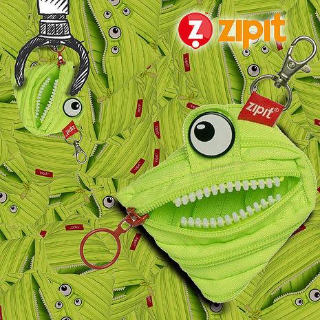 ZIPIT 怪獸家族拉鍊包(小) -班班綠 LG