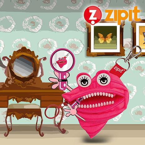 ZIPIT 怪獸家族拉鍊包(小) -西西莉亞粉 PK