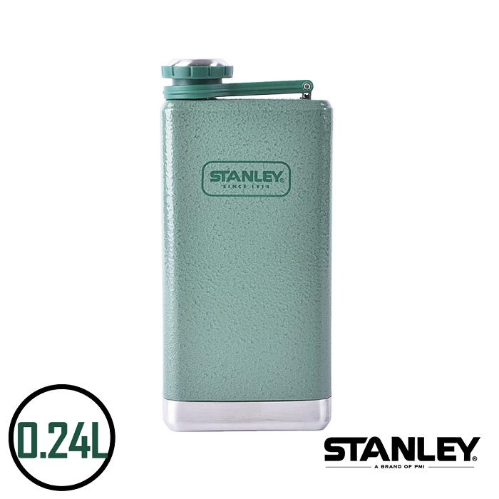 【美國Stanley】不鏽鋼保溫瓶/SS Flask經典酒壺 0.24L
