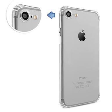 透明殼專家iPhone7鏡頭保護防塵抗摔全包覆軟殼