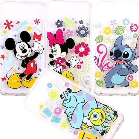 DisneyiPhone6 /6s花朵系列彩繪透明保護軟套