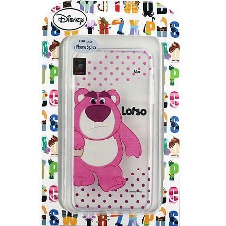 【Disney】Apple iPhone 6 Plus (5.5吋) 彩繪透明保護軟套-熊抱哥