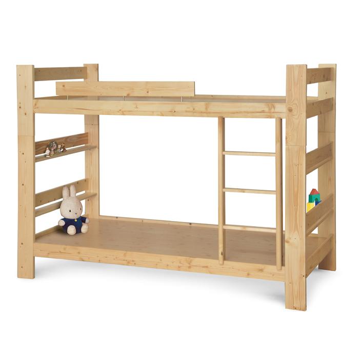松木3尺雙層床