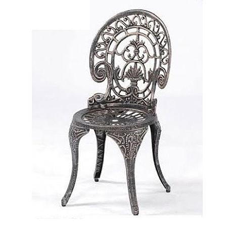 鋁合金孔雀椅