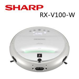 SHARP 夏普 RX-V100 珍珠白 機器人吸塵器  公司貨
