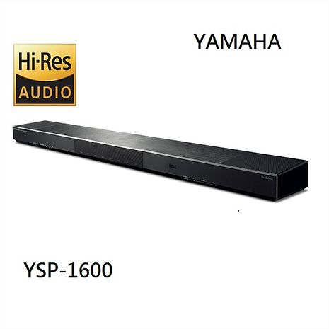 【YAMAHA 山葉】5.1 聲道soundbar 無線家庭劇院 YSP-1600 (公司貨)