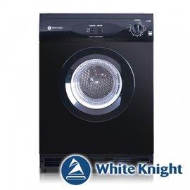 現貨到 White Knight 600AB 6kg 滾筒式乾衣機 黑色◆含到府基本安裝◆英國原裝進口