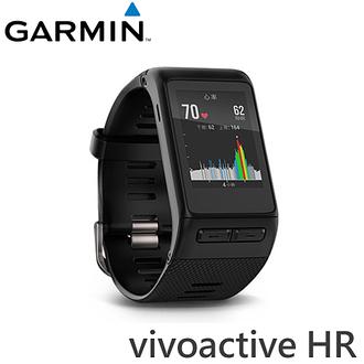 GARMIN vivoactive HR 心率GPS智慧運動腕錶